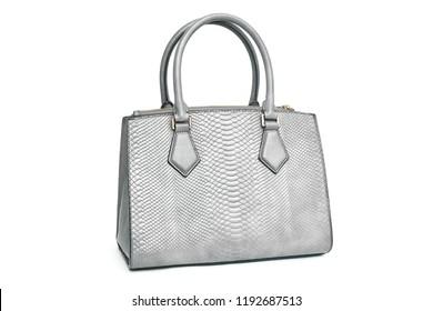 Handbag purse isolated on white background