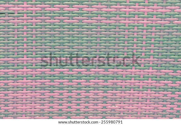 handcraft bamboo weave texture natural wicker background
