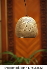 handcraft handmade copper chandelier as an authentic art work people from java Indonesia