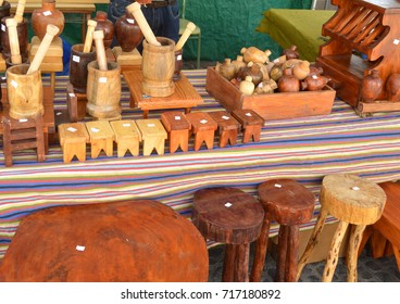 handcrafted goods in market.teror,gran canaria
