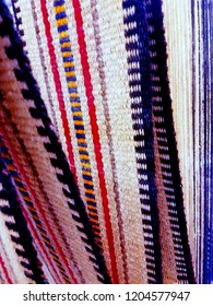Handcrafted Sadu Style Arabian Rugs Closeup