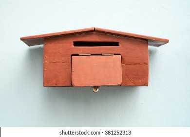 Handcrafted Wood Mailbox