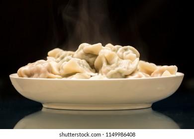 A handful of dumplings