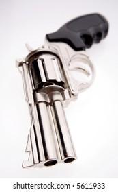Handgun isolated