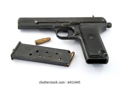 handgun studio isolated