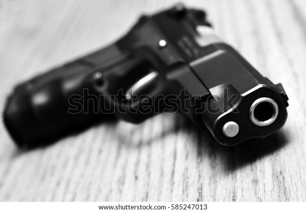 Handguns and pistols for shooting and self defense