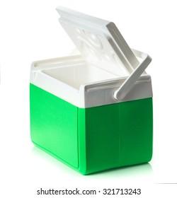 Handheld green refrigerator