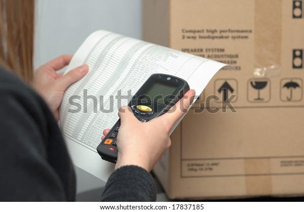 Handheld Mobile Computer & Bar Code scanner