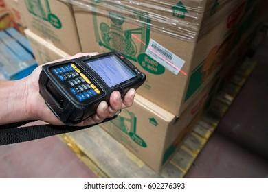 handheld scanning bar-code