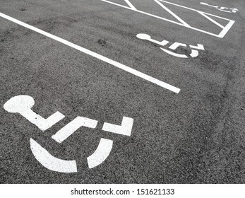 Handicap parking spots