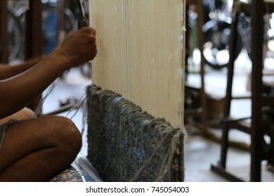 Handicraft Carpet Process