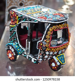 A handicraft model of the Rikshaw cycle