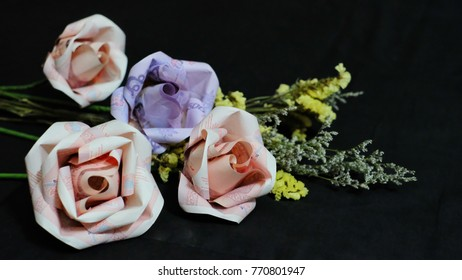 Money Origami Rose   LoveToKnow   280x462