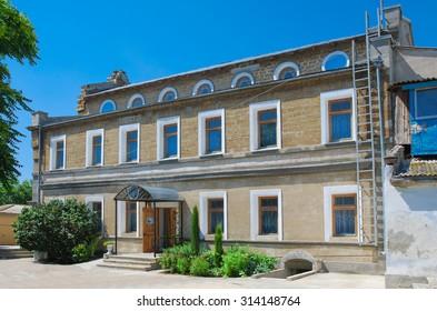 "Handicraft (Remeslennaya) synagogue ""Yeghia-Kapay"". Crimea. Yevpatoria."
