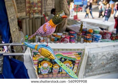Handicrafts Sale New Delhi India Crafts Stock Photo Edit Now