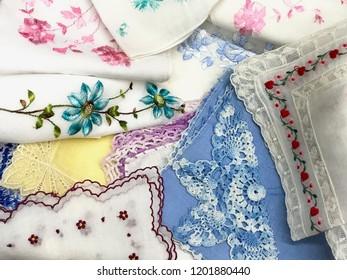 Handkerchief Vintage Textiles