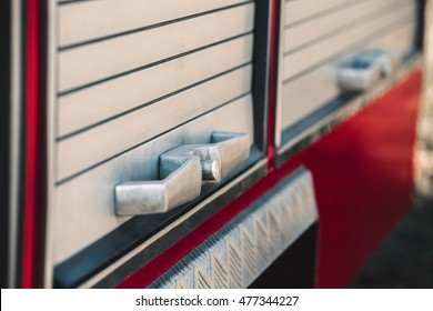 Handle fire engine compartments.