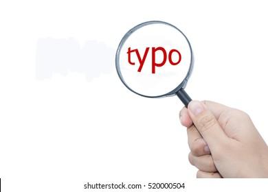 Handle Magnifier word typo