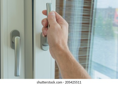 Handles for windows,PVC