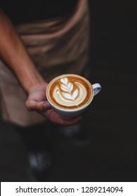 Handling Hot Cafe Latte