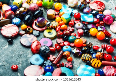 Handmade and bead for making accessories.Big set of beads