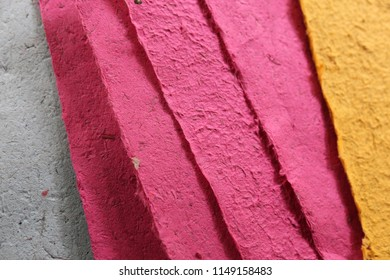 handmade color paper