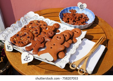 handmade cookies sold in a confectioner's shop