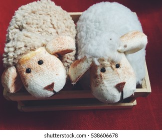 Handmade decorative sheep