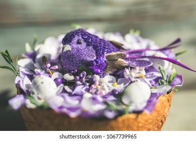 Handmade Easter decorations