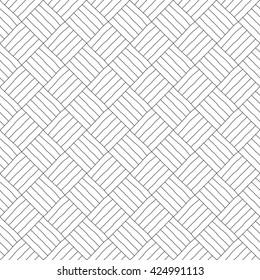 Handmade geometric pattern - seamless background.