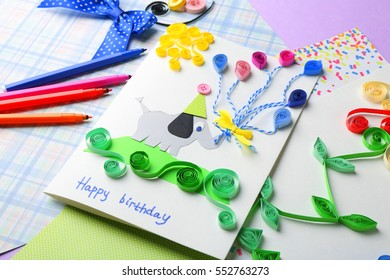 Excellent Handmade Greeting Card Images Stock Photos Vectors Shutterstock Funny Birthday Cards Online Alyptdamsfinfo