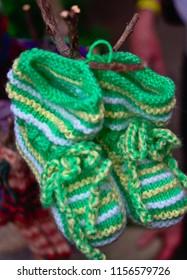 Handmade haus socks