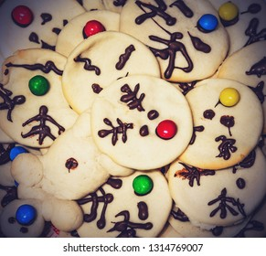 handmade holyday cookies