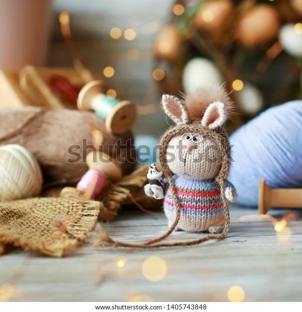 Cute Crochet gray Bunny. Amigurumi Rabbit toy. Bunny Plush ... | 620x600