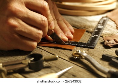 handmade leather ,like the old days.