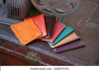 Handmade leather wallets are a thing of past in today's world.