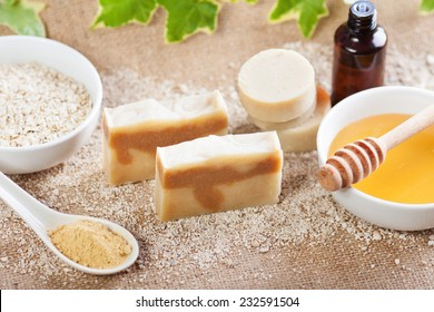 Handmade natural soap