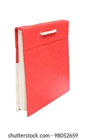 Handmade paper book