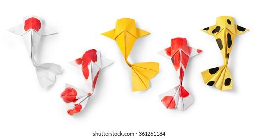 Origami Fish Images Stock Photos Vectors Shutterstock