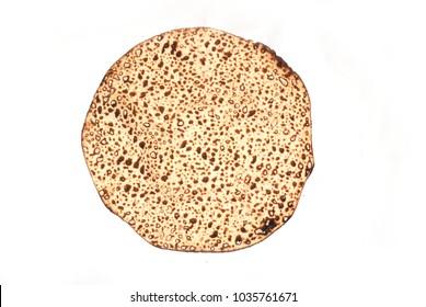 handmade Passover matzah