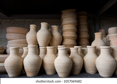 Handmade ,Pottery in its Natural Colors, Qatif, Eastern Province, Saudi Arabia