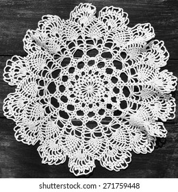 Crochet Round Tablecloth Pattern Crochet Tablecloth Close Up Of