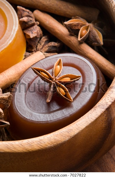 Handmade soap and spices