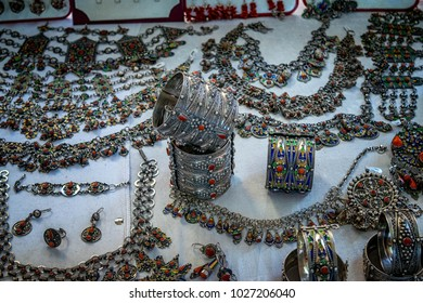 handmade traditional silver jewelry from the region of Kabylie