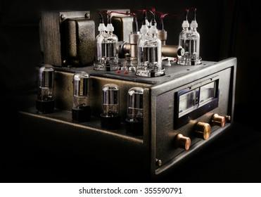handmade tube amplifier