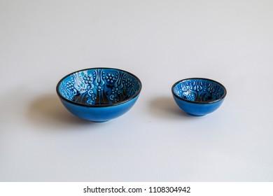 Handmade Turkish ceramic bowl