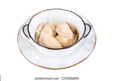 Handmade varenics with curd filling  - Shutterstock ID 1570506094
