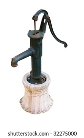 hand-operated water pump