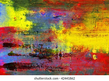 hand-paint abstract background