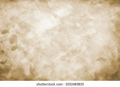 A hand-painted abstract background in shades blue, gray and tan